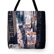 Architecture New York Ny Usa Tote Bag