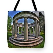 Architecture Of Forest Lawn  Tote Bag