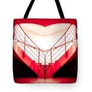 architecture's valentine - redI Tote Bag