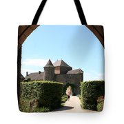 Archway Chateau Of Berze Tote Bag