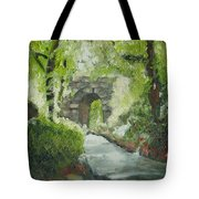 Archway In Central Park Tote Bag