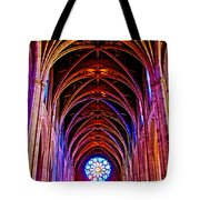 Archway In Grace Cathedral In San Francisco-california Tote Bag