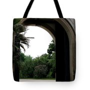 Archway Pillnitz Castle Tote Bag