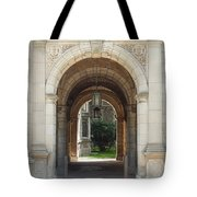 Archway To Courtyard Tote Bag