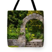 Archway To The Secret Garden Tote Bag
