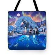 Arctic Harmony Tote Bag