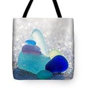 Arctic Peaks Tote Bag by Barbara McMahon