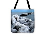 Arctic Waters Tote Bag