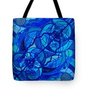 Arcturian Calming Grid Tote Bag