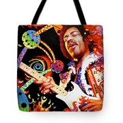Jimi Hendrix Are You Experienced Tote Bag
