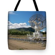 Are You Receiving Me Major Tom Tote Bag by Trever Miller