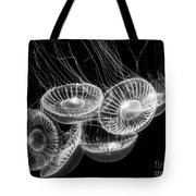 Area 51 - Moon Jellies Aurelia Labiata Tote Bag