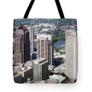 Arena District Columbus Ohio Tote Bag