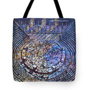Arena Song Tote Bag by Mark Howard Jones