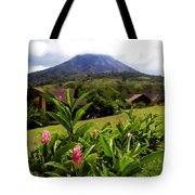 Arenal Costa Rica Tote Bag