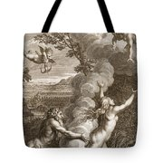 Arethusa Pursued By Alpheus And Turned Tote Bag