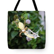 Argiope Spider Top Side Horizontal Tote Bag