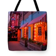 Argyle Street Halifax Tote Bag