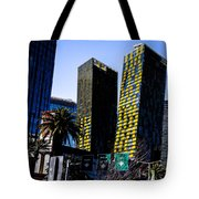Aria Towers Tote Bag