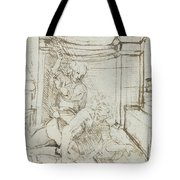 Aristotle And Phyllis Tote Bag