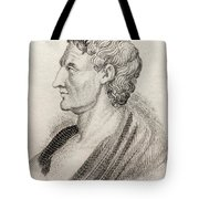 Aristotle From Crabbes Historical Dictionary Tote Bag