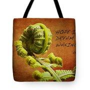 Aristotle Quote Tote Bag