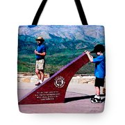 Arizona Highway Patrol Memorial Tote Bag