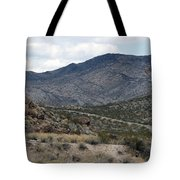 Arizona Mountains Tote Bag