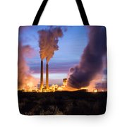 Arizona Power Plant Tote Bag