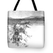 Arizona Tombstone, 1883 Tote Bag