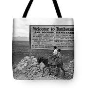 Arizona Tombstone, 1937 Tote Bag
