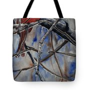 Arkansas Cardinal Tote Bag