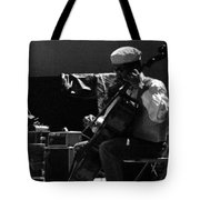 Arkestra Cellist Uc Davis Quad Tote Bag by Lee  Santa