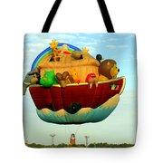 Arky Hot Air Balloon Tote Bag