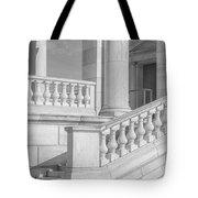 Arlington Memorial Amphitheater  Bw Tote Bag