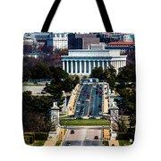 Arlington Memorial Bridge Leads Tote Bag