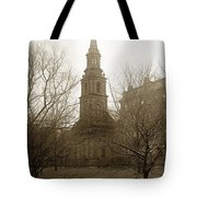 Arlington Street Church Unitarian Universalist Boston Massachusetts Circa 1900 Tote Bag