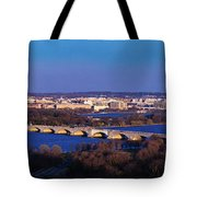 Arlington, Va - Wash D.c. - Panoramic Tote Bag