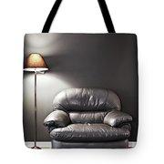 Armchair And Floor Lamp Tote Bag