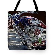 Armed Forces Tribute Bike Tote Bag