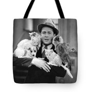 Armful Of Cats And Dogs Tote Bag