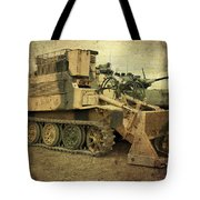 Armoured Power  Tote Bag