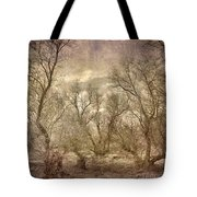 Arms Ghost Forest Tote Bag
