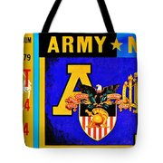 Army Navy 1979 Tote Bag