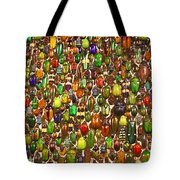 Army Of Beetles And Bugs Tote Bag