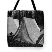 Army Tents Circa 1800s Tote Bag