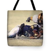 Army Versus Navy In The Snow 2013 Tote Bag