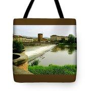 Arno River 1 Tote Bag