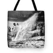 Arnold Palmer At Pebble Beach California Rey Ruppel Photo Circa 1955 Tote Bag