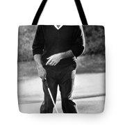 Arnold Palmer Misses A Putt Tote Bag